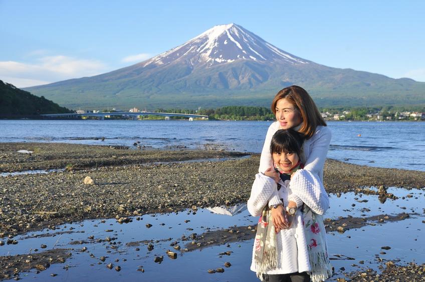 Kawaguchiko lake, Japan, fuji five lakes