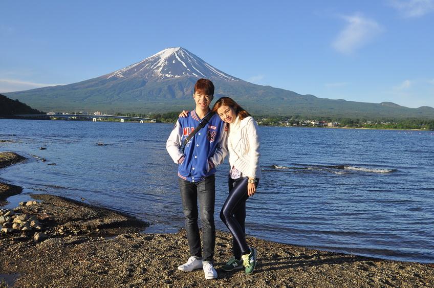 fuji five lakes, kawaguchiko lake