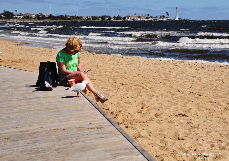 St Kilda Beach, Melburne