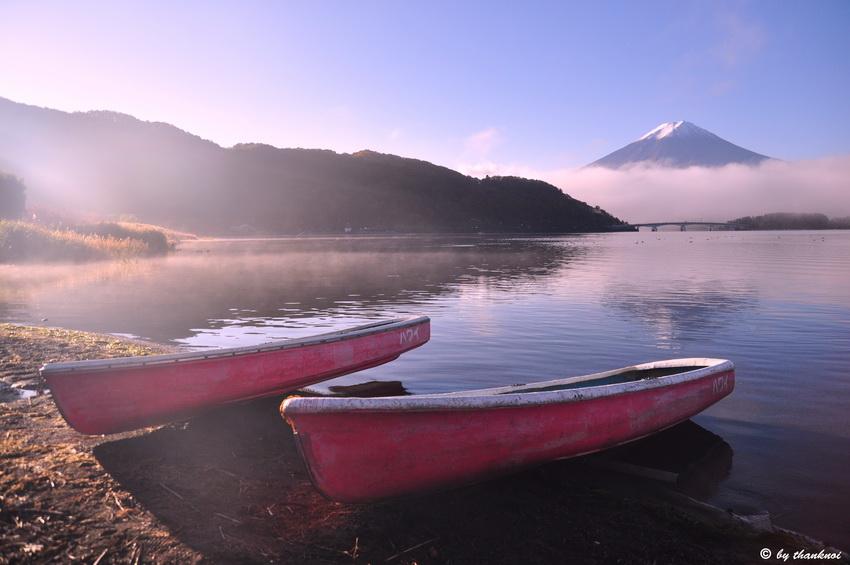 Fuji, Kawaguchigo lake, Fuji five lakes