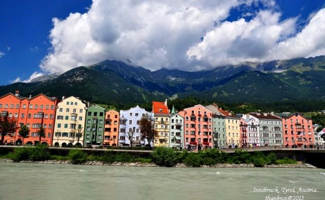 Innsbruck เมืองสวยในอ้อมกอดของเทือกเขาแอลป์