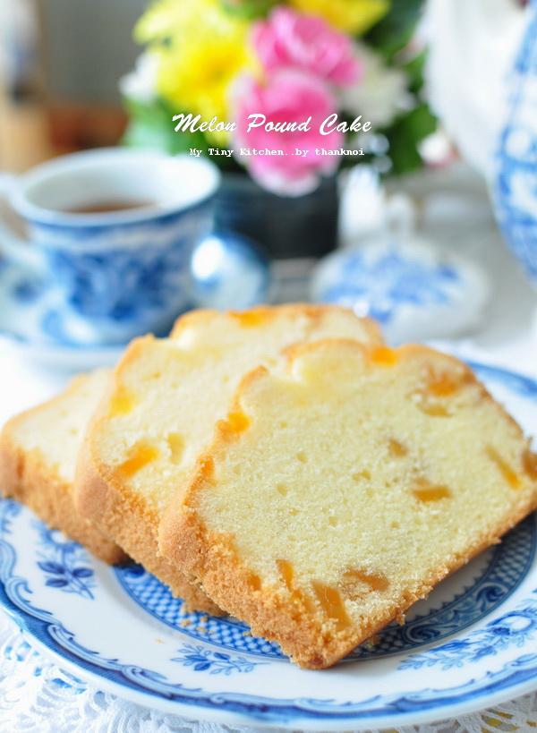 melon pound cake