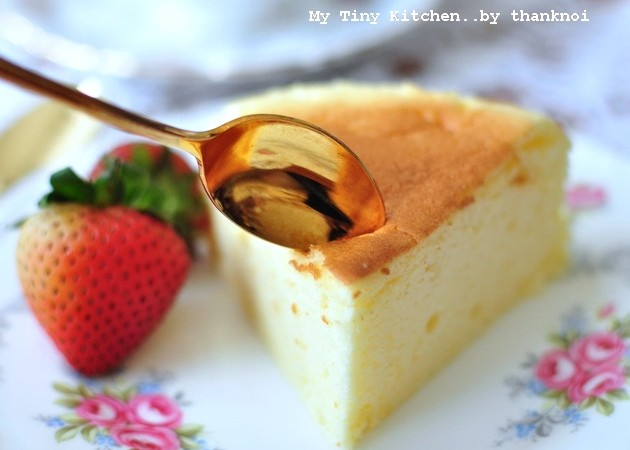 Japanese shouffle cheesecake