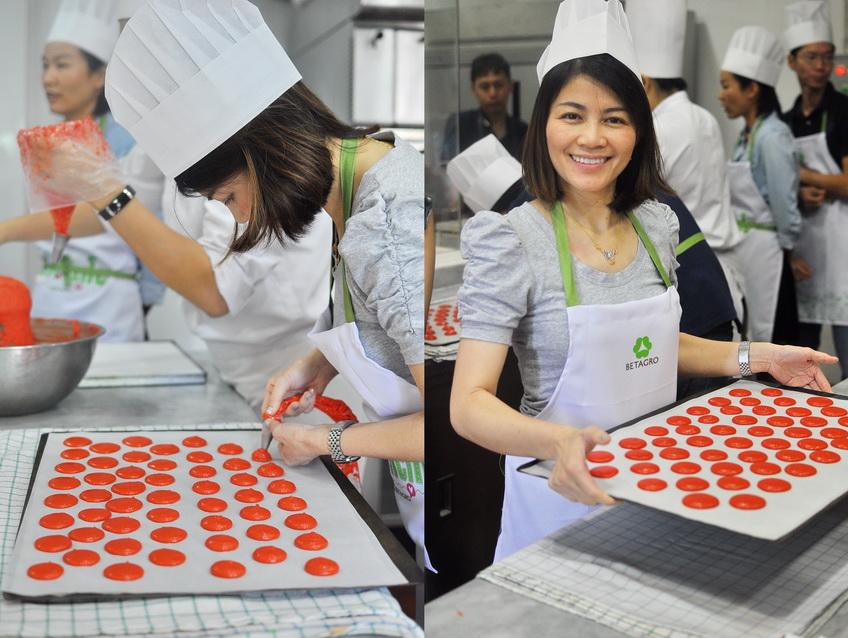 Macaron work shop