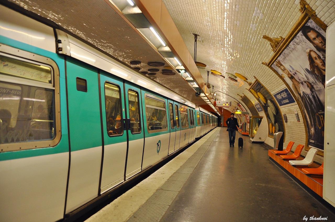 เที่ยวปารีสด้วยรถไฟ
