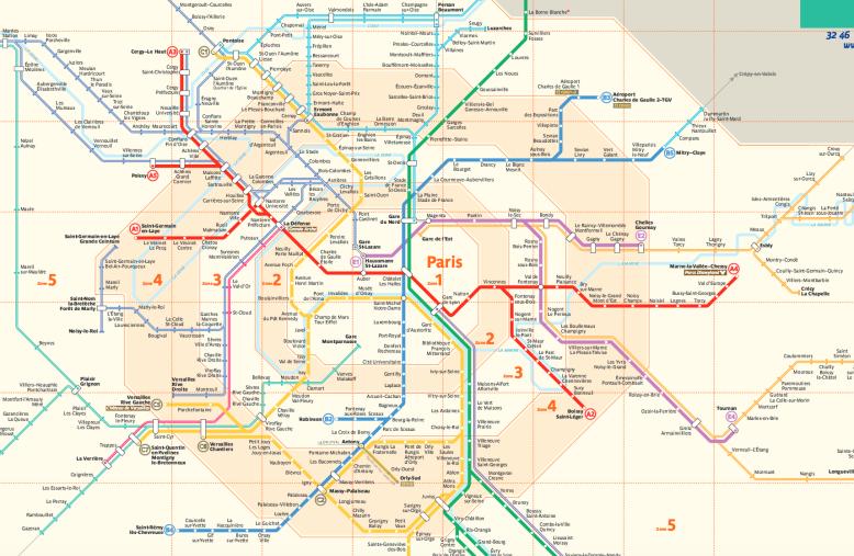 paris transportation zone