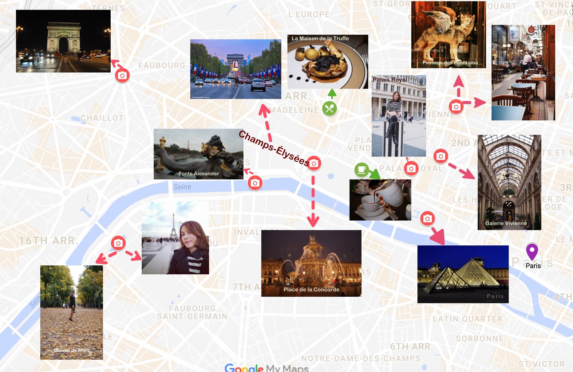 เที่ยวไปกินไปในปารีสตอนที่ 1