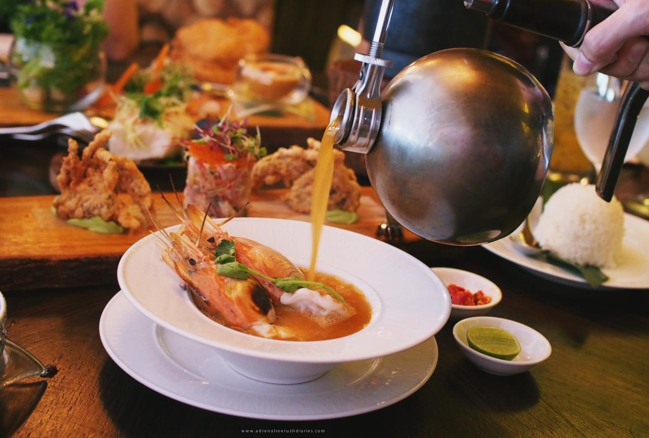 อาหารไทยแบบโมเดิร์น@Osha Bangkok