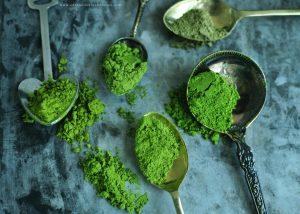 ใช้ชาเขียวแบบไหนทำเบเกอรี