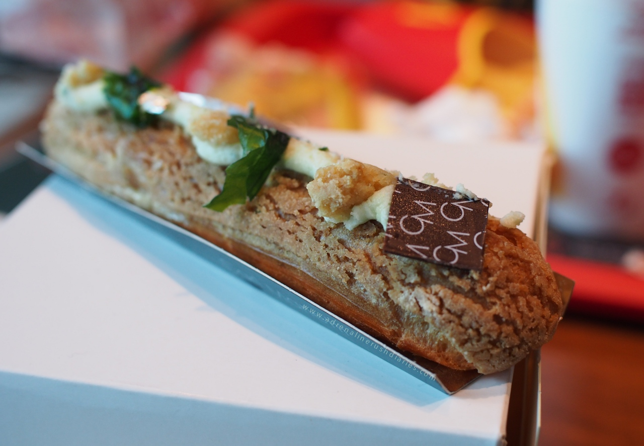 Lemon basil eclair by carl marletti
