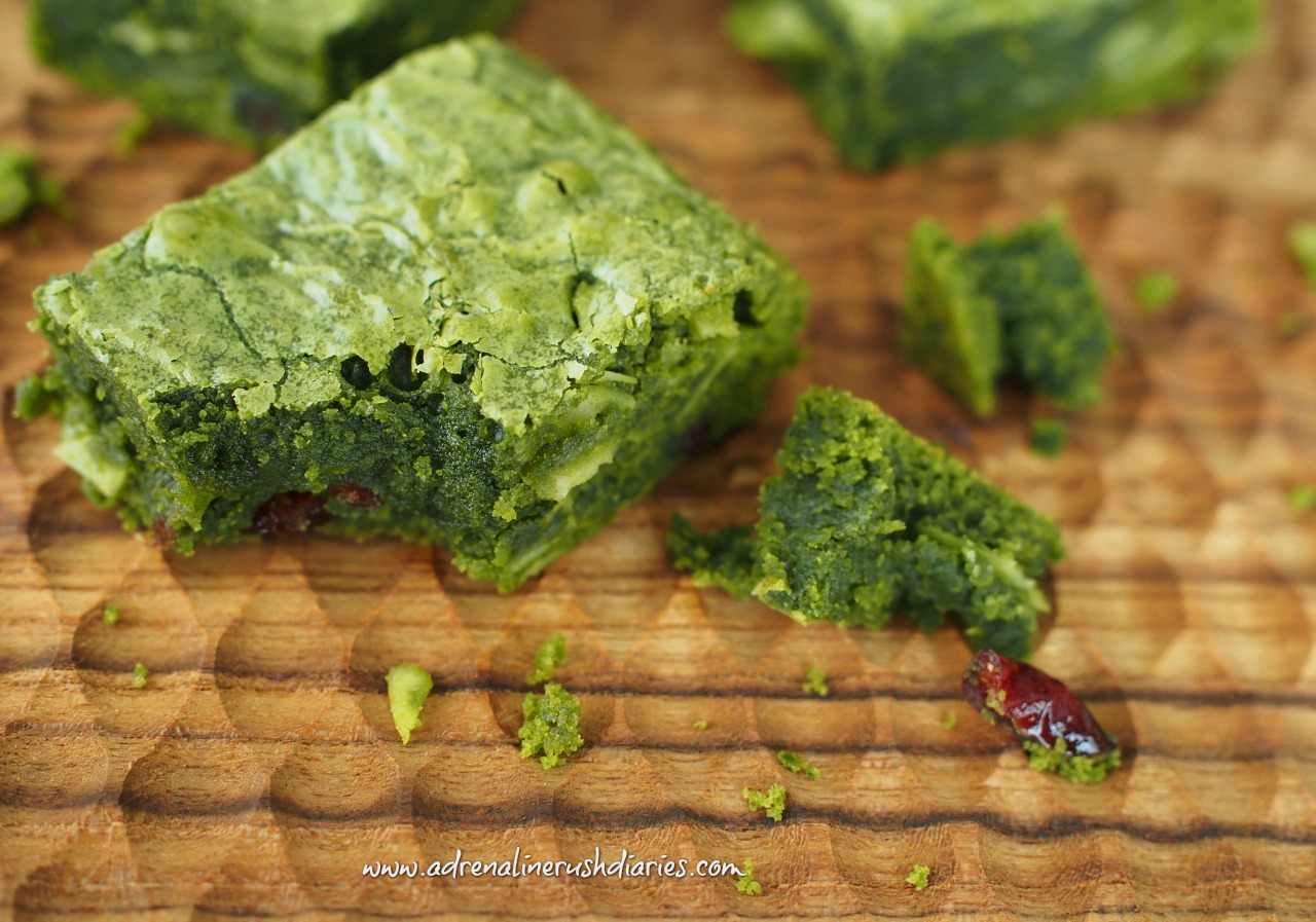 Matcha White Chocolate Brownie