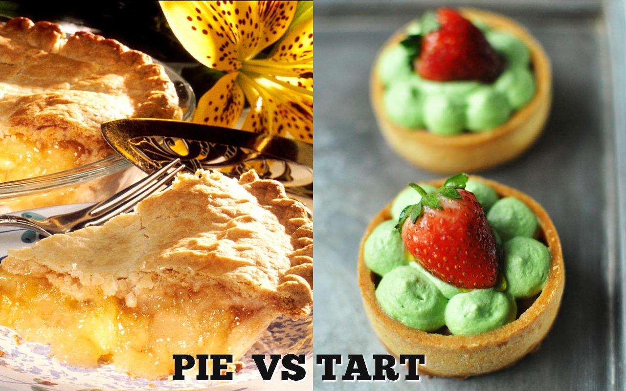 พาย (pie) และ ทาร์ต (tart) ต่างกันอย่างไร