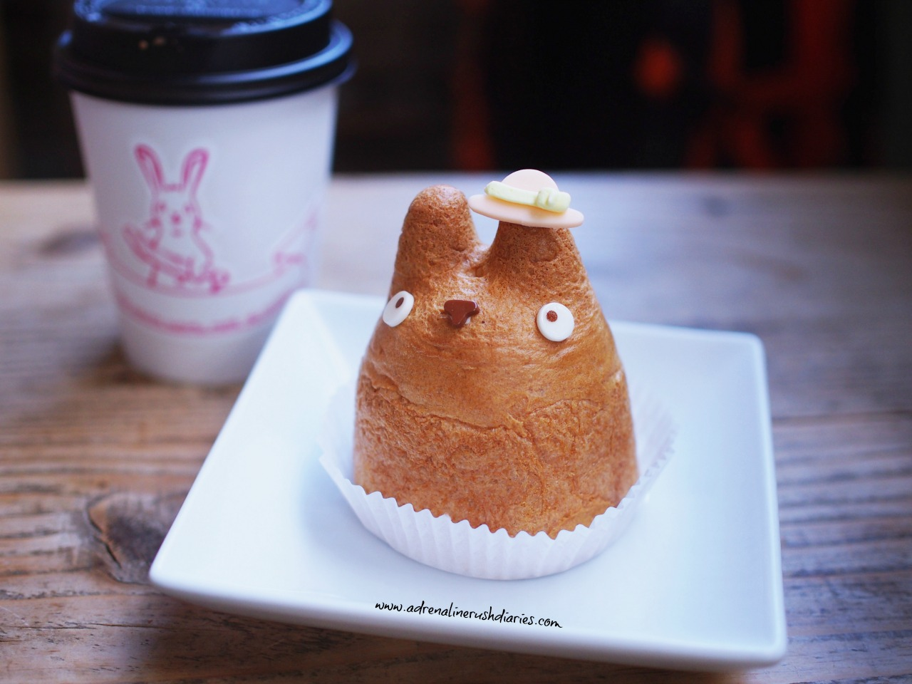 Totoro choux cream