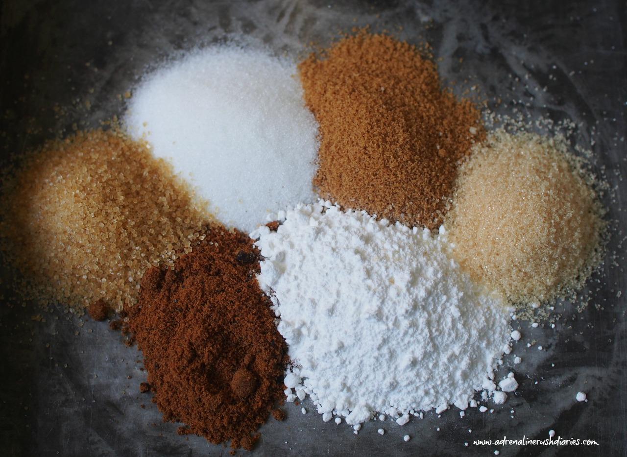 ชนิดของน้ำตาลในเบเกอรี