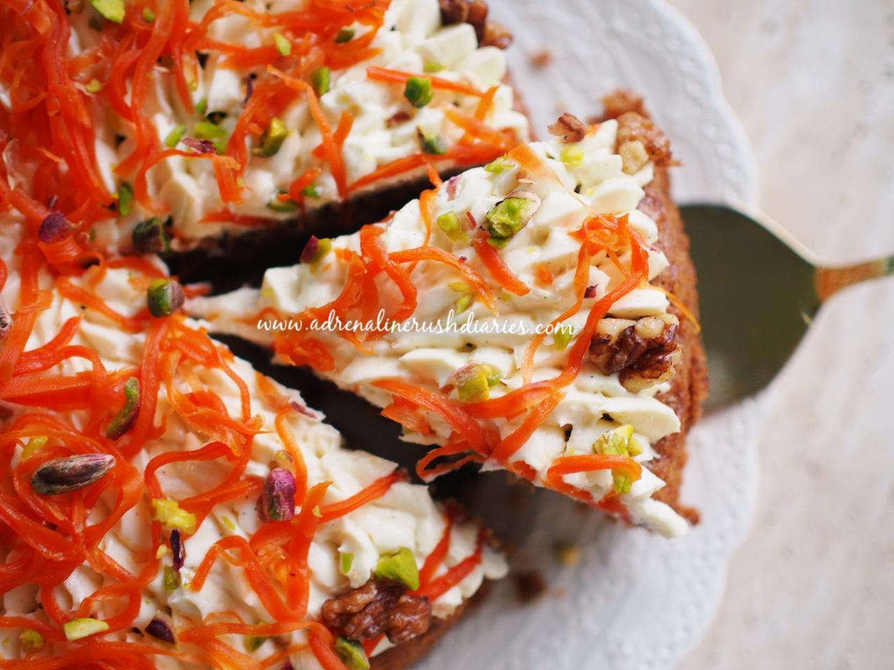 Carrot Cake เค้กแครอท