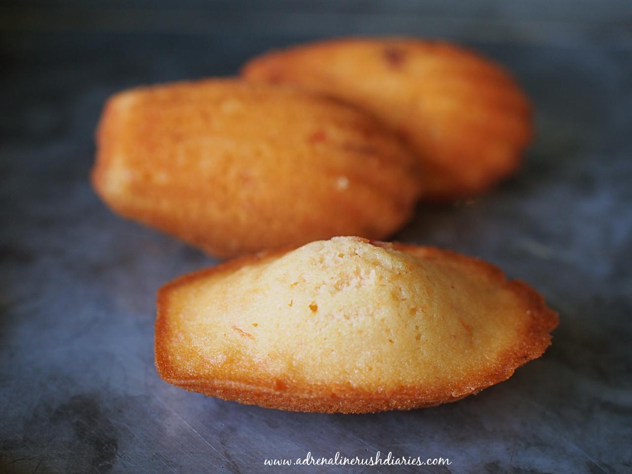Candied Bael Fruit Madeleines แมดเดเลนมะตูม