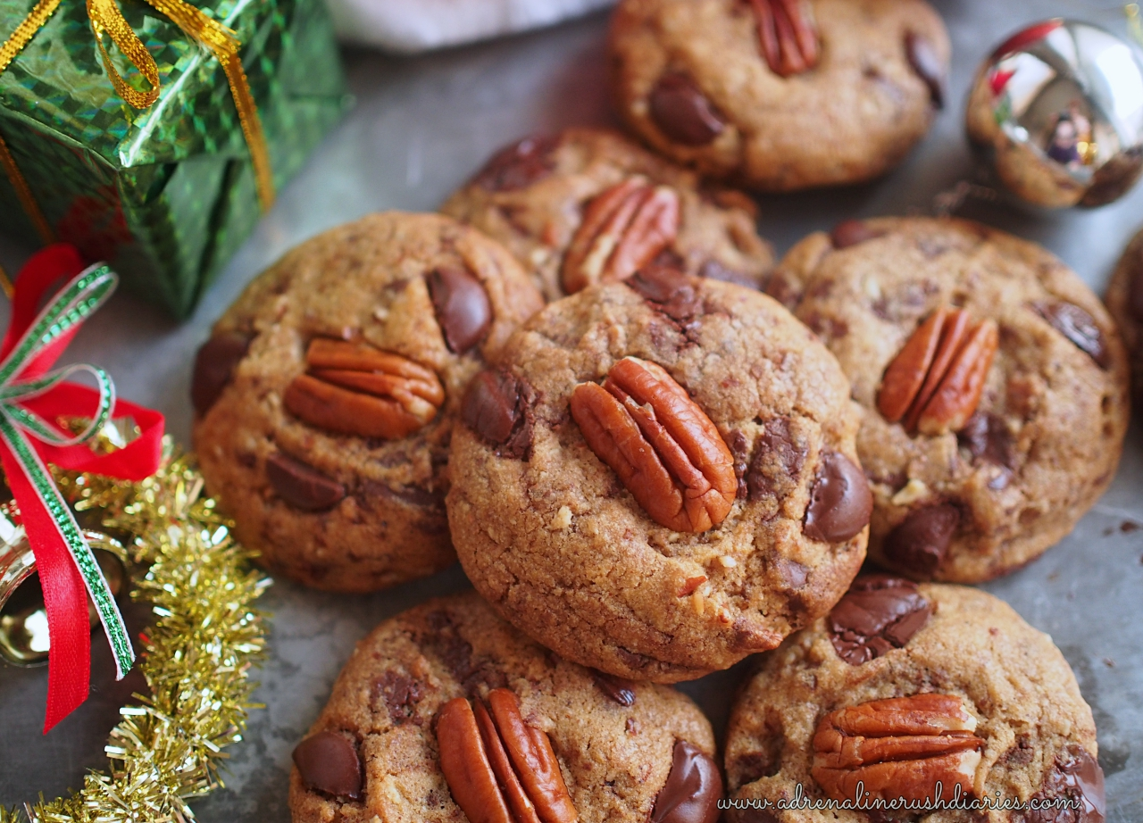 Brown Butter Pecan Chocolate Chunk Cookies